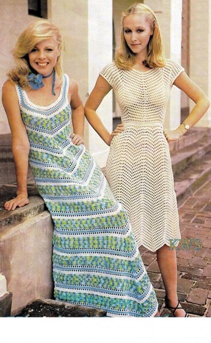 Женственные платья в винтажном стиле 0