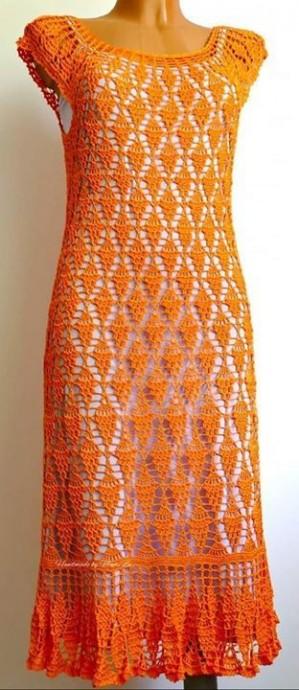 Вяжем по-настоящему летнее платье 0