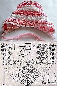 Подборка шапочек для детского летнего гардероба 0
