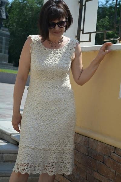 Платье крючком 0