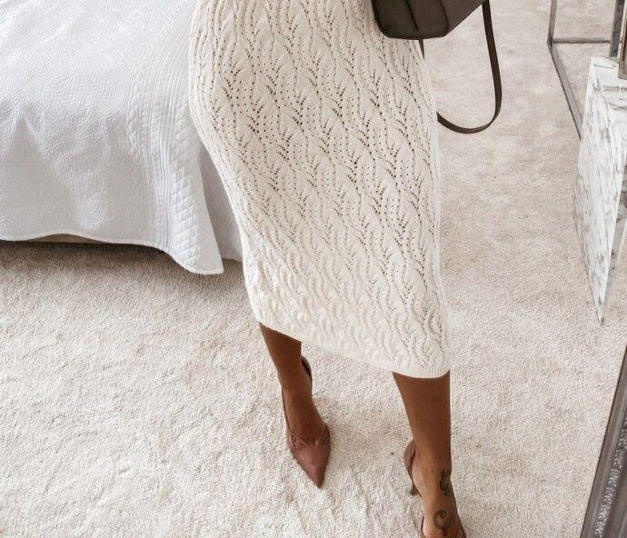 Узор для юбки спицами 0