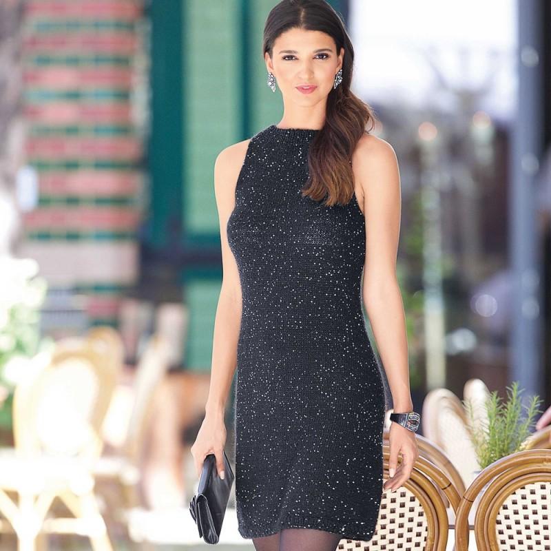 c38babe3d89 Маленькое черное платье! из категории Интересные идеи – Вязаные идеи ...
