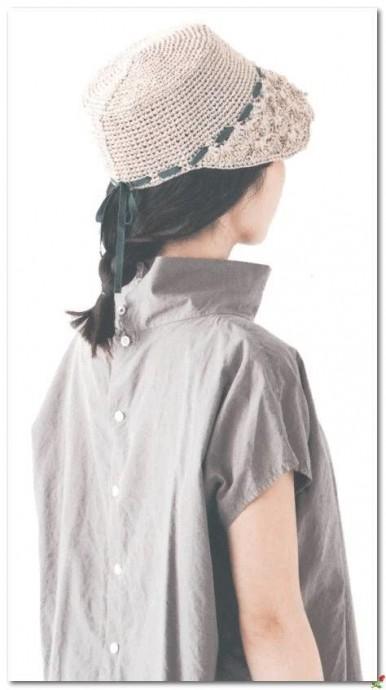Шляпа с козырьком - вяжем аккуратный головной убор на лето 0