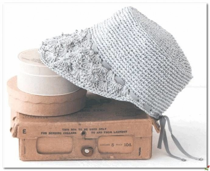 Шляпа с козырьком - вяжем аккуратный головной убор на лето 1
