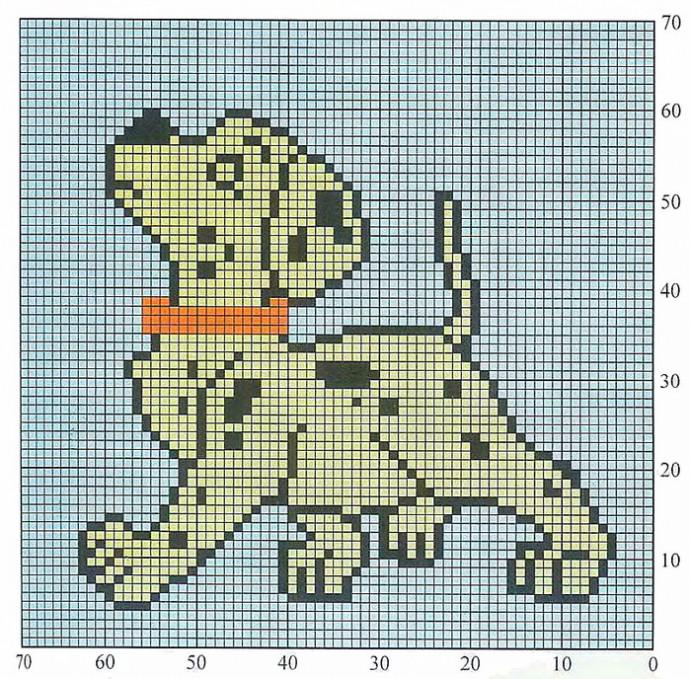Схемы картинки для вязания для детей