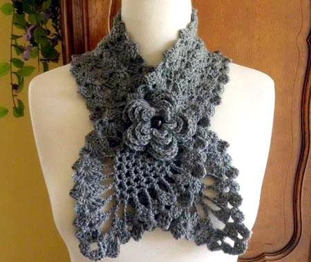 Изысканный шарф 1