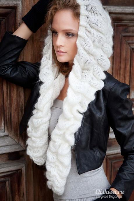Шапочка-шарф «Императрица»