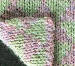 Узоры двустороннего вязания спицами и техника их выполнения 0