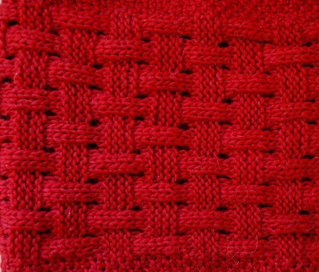 узор плетенка корзинка