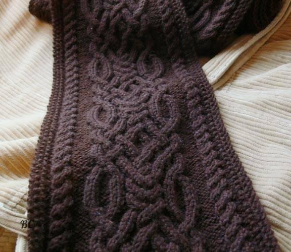 Шарф-капюшон. вязание спицами